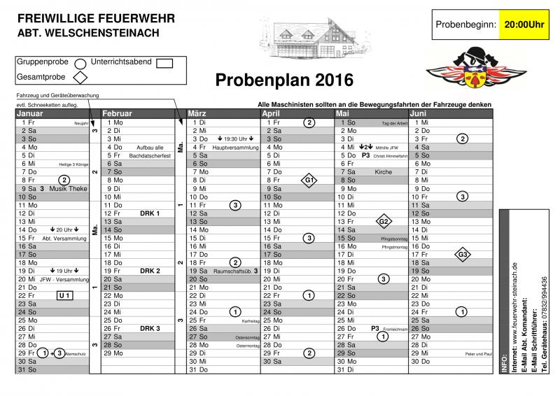 Probenplan 2016-01