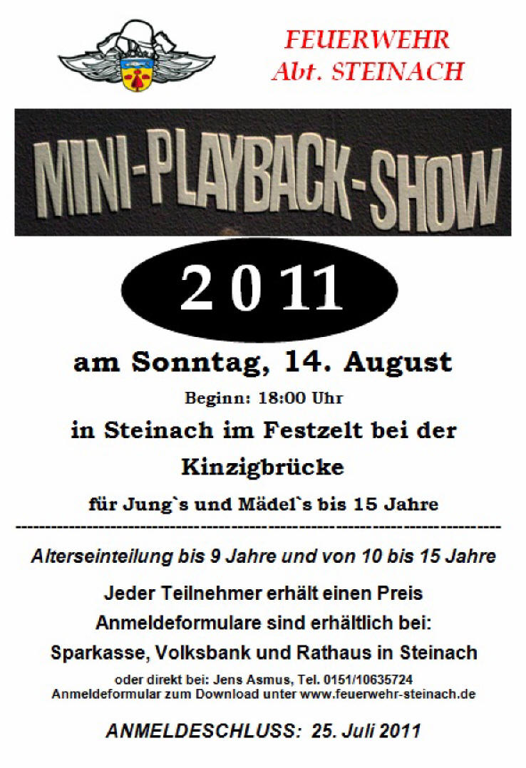 miniplaybacksho flyer