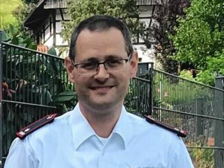 Markus Decker ist der Gesamtkommandant der Steinacher Feuerwehr.